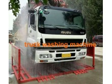Truck washer machine