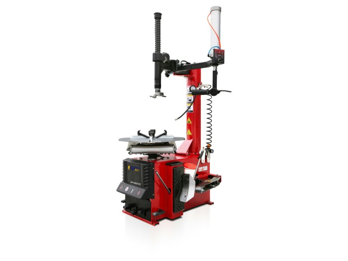 Swing arm tire changer with simple right helper arm HPT-6620+Q10