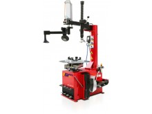 Swing arm tire changer with multi-function left helper arm HPT-680+H12