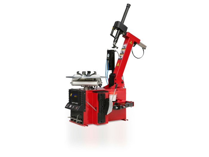 Automatic tilting tire changer HPT-662