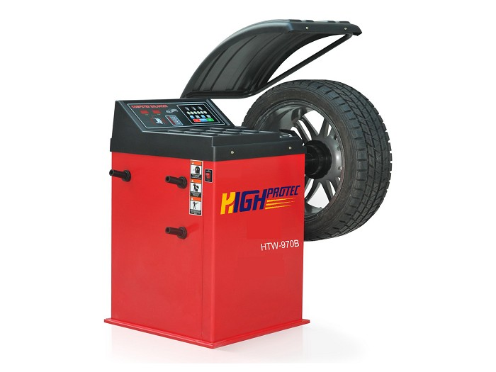Digital electronic wheel-balancer with LED display HTW-970B