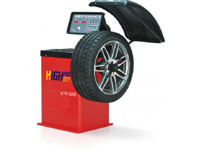Digital electronic wheel-balancer with LED display HTW-990B