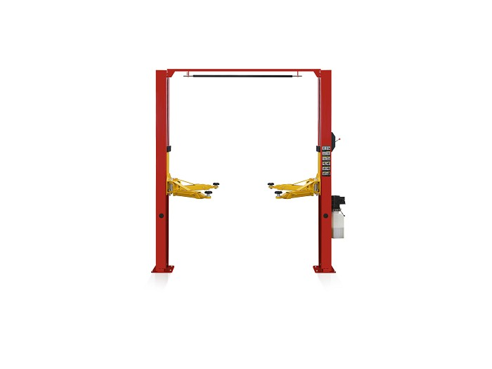 Gantry two post lift S5DL with single side manual lock release