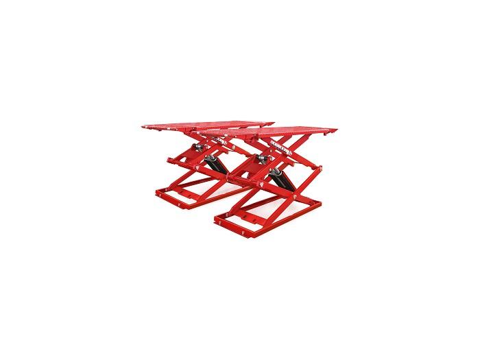 Low profile automotive scissor lift HPS-B35