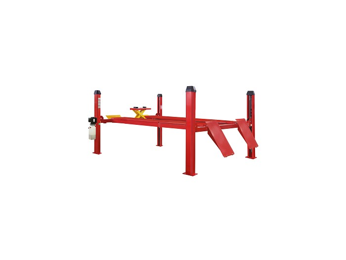 FS4-4 four post lift with alignment function and electric control system